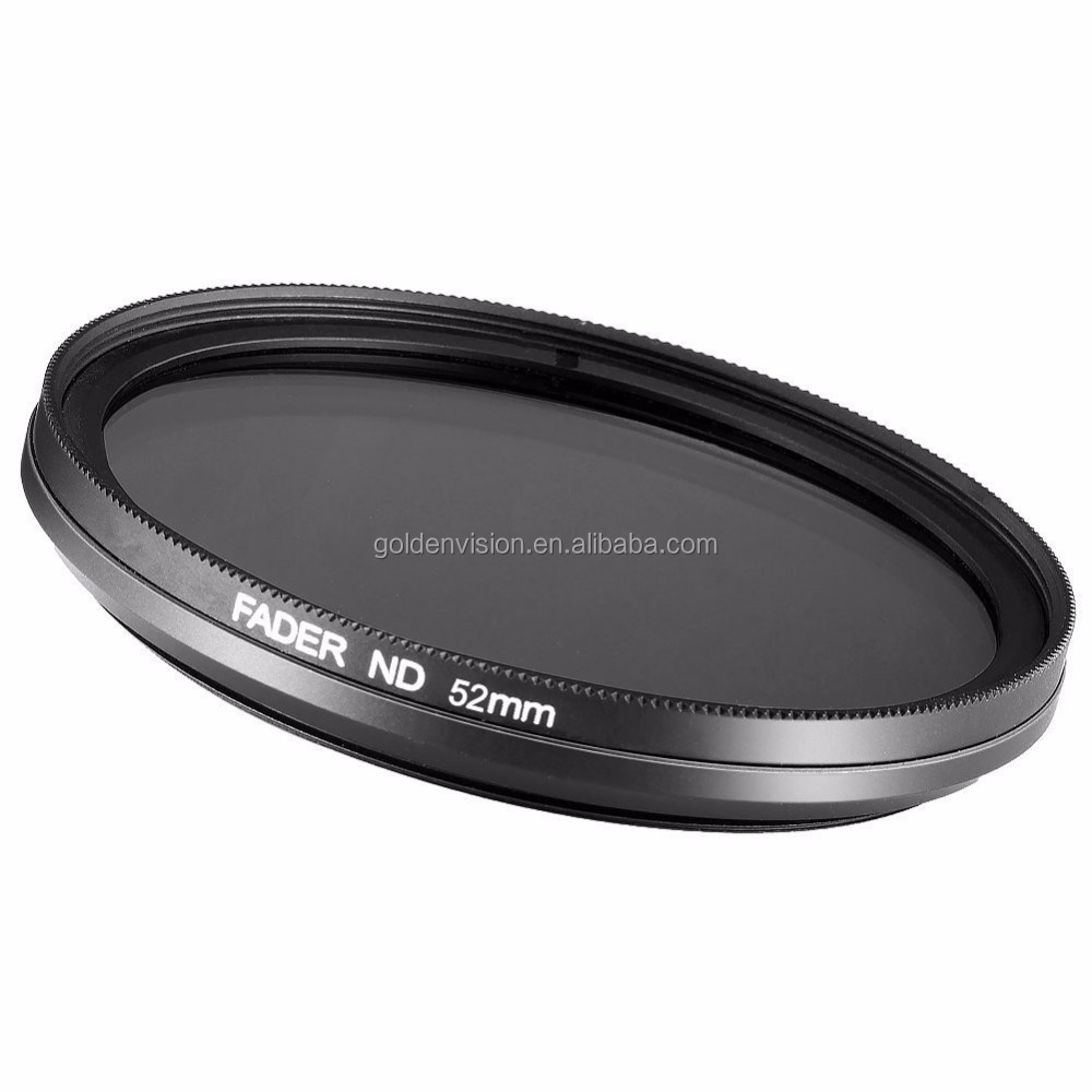 OEM Multi-size 52mm ND Fader Neutral Density Adjustable Variable Filter (ND2 to ND400)