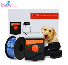 LoreWin TP16 anti bark remote control Pet trainer Dog training collar Clever Dog Brand invisible electric dog fence/fence System