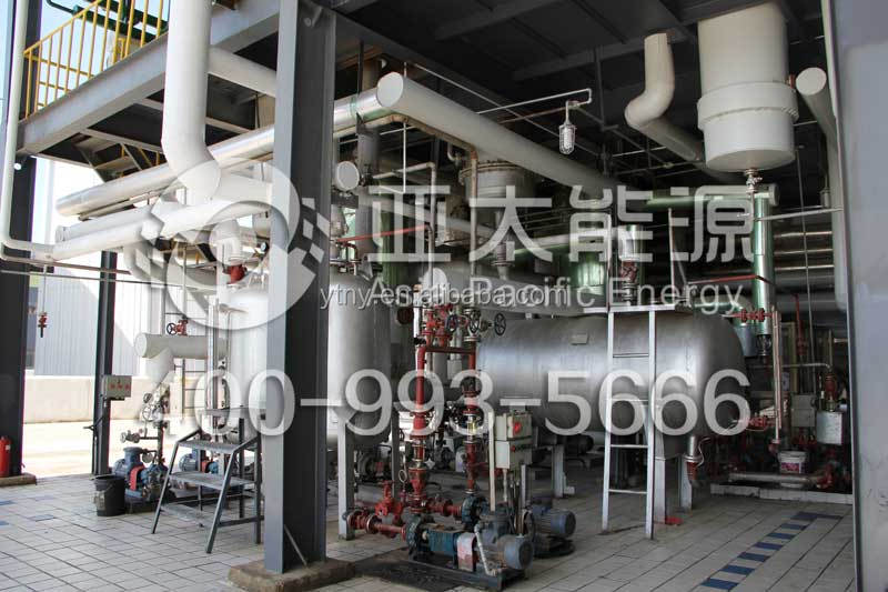 Useing waste oil Distillation Machine /edible oil recycling machine refinery plant
