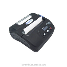 LCD 80mm Android Thermal BT Label Barcode Mini Portable Sticker Printer Slip Machine