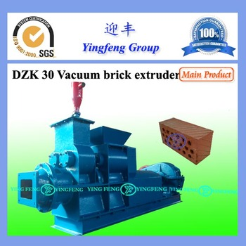 Very Hot!!! DZK30 solid clay brick machinery
