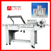 Plastic Heat Shrink Cap Seal Shrink Wrapping Machine PE Film Shrink Packing Machine