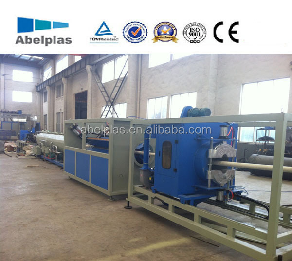 PVC pipe manufacturing unit/machine