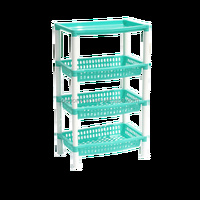 Cheap price vegetable display shelf injection mould plastic molding