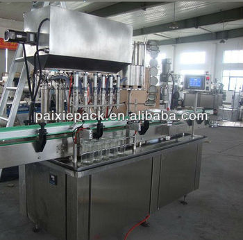 automatic filling and sealing machine jam jars