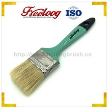 White pig bristle paint brushes plastic handle manufacturers China