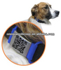 different QR or text nfc pet id collar tag