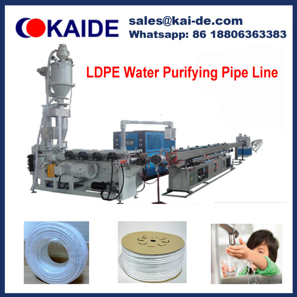 High Speed LDPE cck water purifier tube Production Line