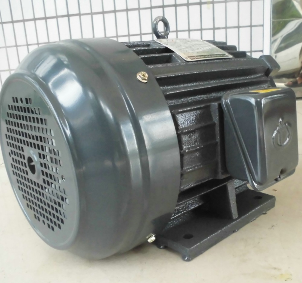 Taiwan type spline shaft asynchronous electric motor for hydraulic system