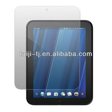 Christmas Promotion : Anti fingerprint screen protector with wholesale package for hp touchpad