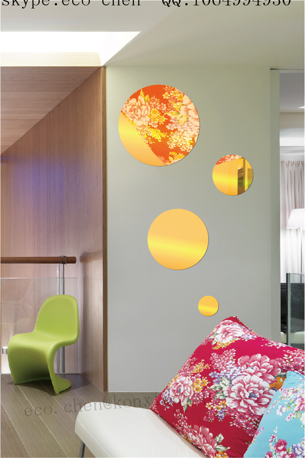 Acryl kreise dekoration wand h ngen andere h usliche dekoration produkt id 60324568898 german - Ubergang wand decke acryl ...