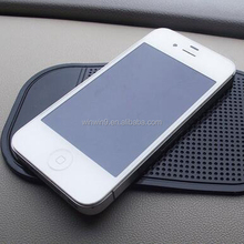 Best quality gel non slip mat for car/interlock anti slip mat for mobile phone