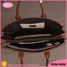 Euramerican style men fashion hard briefcase with high quality