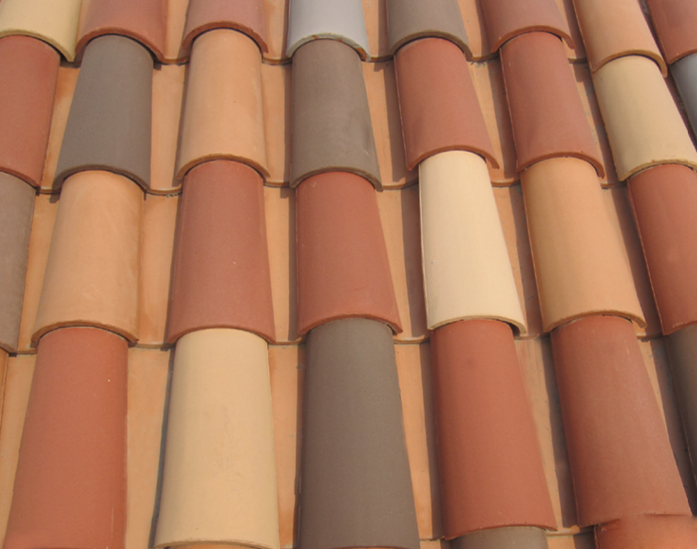 IVON tile in mexico roofing tile roofing sheets at lowes clay barrel roof tile