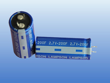 2.7V Cylindrical Super Capacitor; Ultra Electrolyte Capacitor; 200F Capacitor