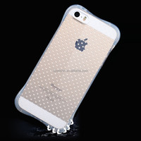 Cheap drop resistant protective phone cases bumper case for iphone 4 5 6 7 s se c plus