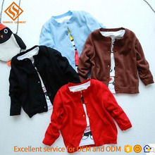 2017 Hot Sale kids knit vest pattern child sleeveless sweater , boys cardigan sweater clothes