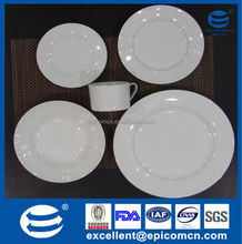 houseware products ceramic dinnerware sets white ceramic dinner set