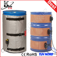 Industrial oil drum heater