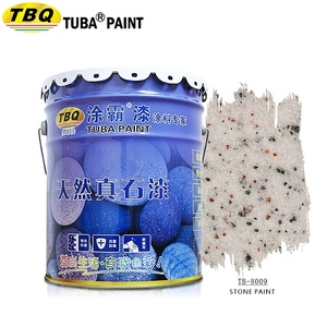 China wall paint supplies Spray Texture Stone Wall Paint