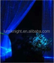 luminous fiber optic curtains for living room blackout curtain fabric