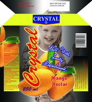Crystal's fruit juices