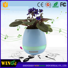 New arrival smart music flowerpot LED flower pot magic light