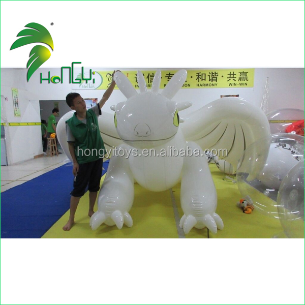 Inflatable White Large Dragon toys (10)