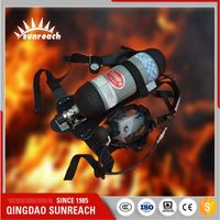 Fire Fighting Equipment For Fire-Fighting Fresh Air Breathing Apparatus Scab