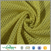 Knitting yarn Zhejiang textile heavy duty polyester mesh fabric wholesale