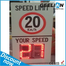 12VDC Solar Variable Message Sign Trailer Road Safety Traffic Warning VMS Sign