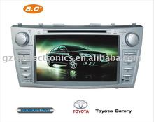8 inch 2 din special car indash DVD player for Camry with gps navigation
