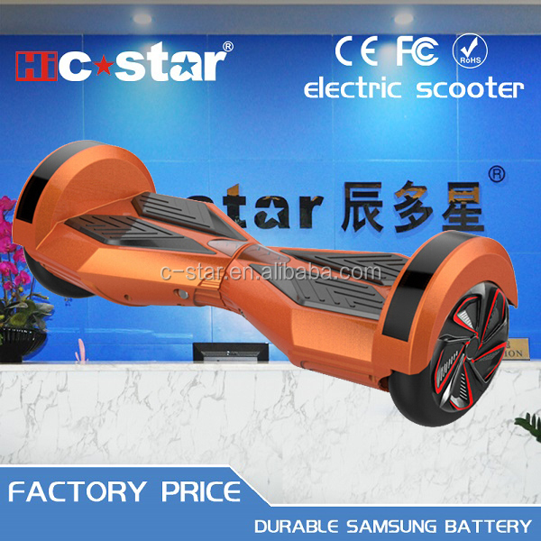 AluCard 2016 new product electric hoverboard 2 wheel smart balance wheel mobility scooter for adults electric motorcycle