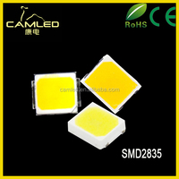 High Quality 40~50lm Light Emitting Diode Chip SMD 2835 0.4W 60mA