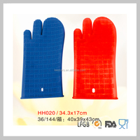 wholesale oven kitchen waterproof glove silicone Heat Resistant oven Gloves
