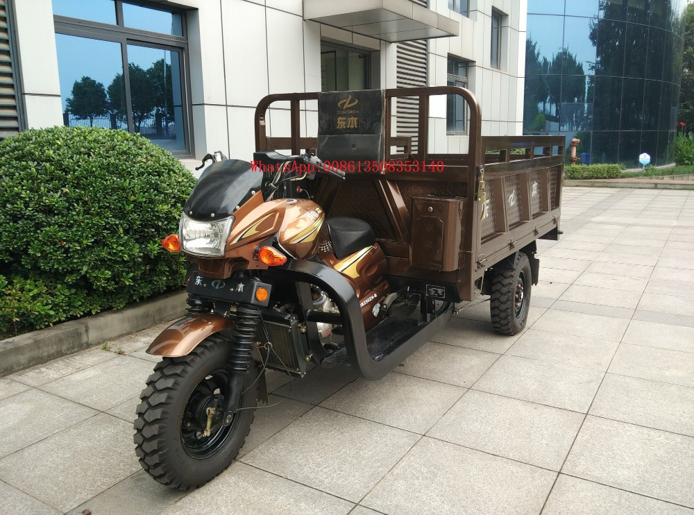 Chinese New 200CC,250CC,300CC, Motorized Driving cargo high quality Trike /Cargo 3 Wheel tricycle