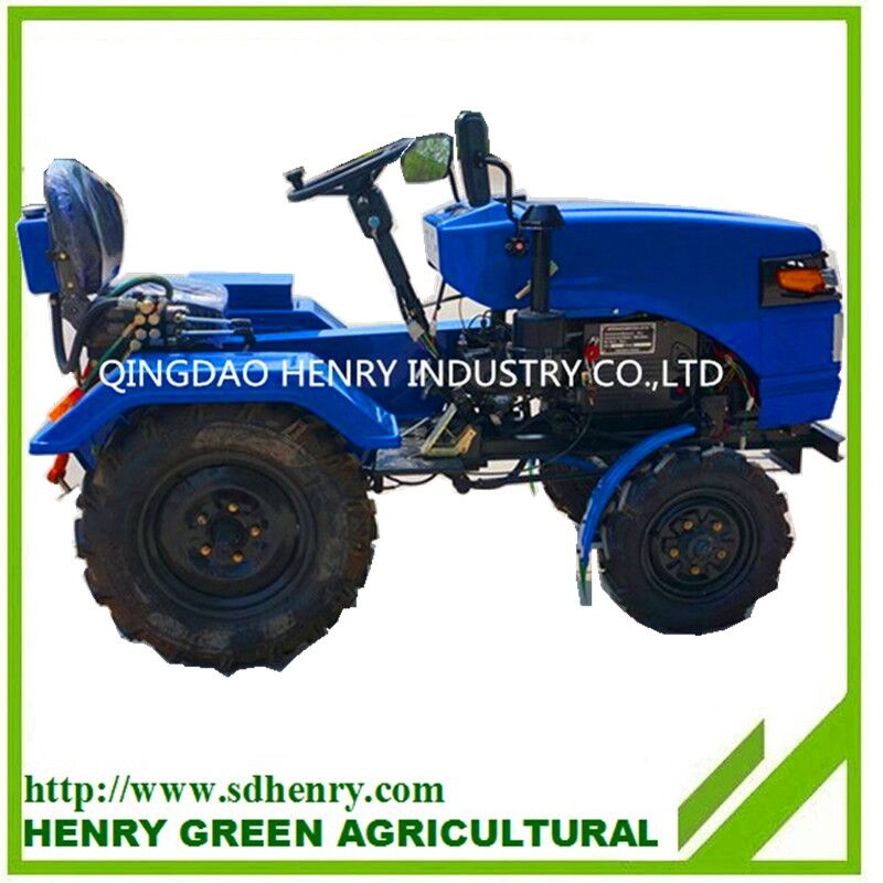 Two wheel drive small mini garden tractor with low price