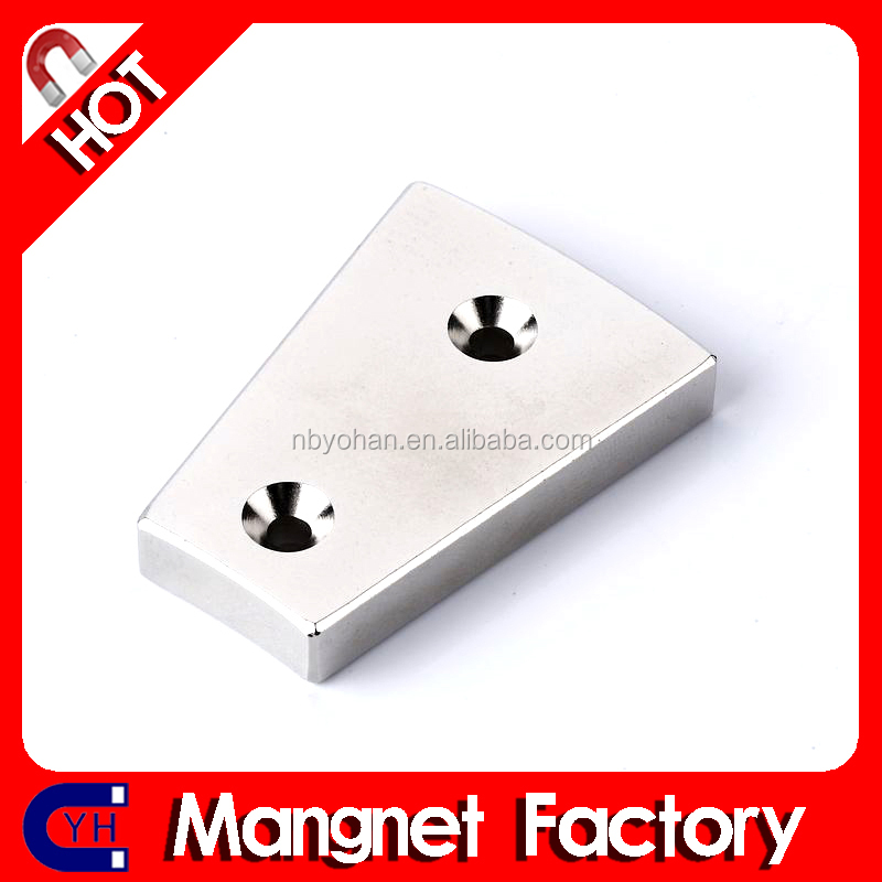 Manufacturer Supply Countersunk Holes Magnet
