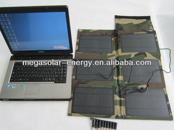 30W Portable Flexible Solar Charger
