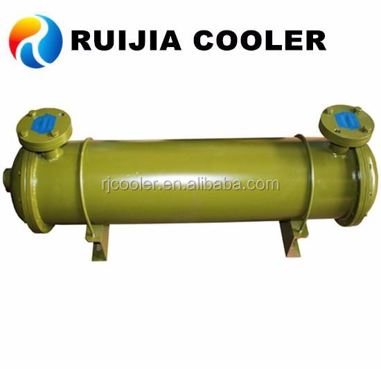 Compressor hydraulic air cooler heat exchanger unit copper condenser evaporator aftercooler