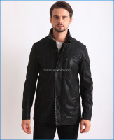 Europe style classical men's winter stylish leather jackets