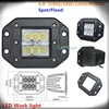 12v 24v led auto light 18W led flushmount lights 12v 24v IP68