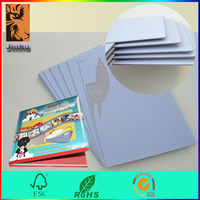 wholesale packaging material cardboard thick grey board for book binding cover