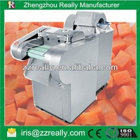 Electric potato cube cutter industrial vegetable cutter