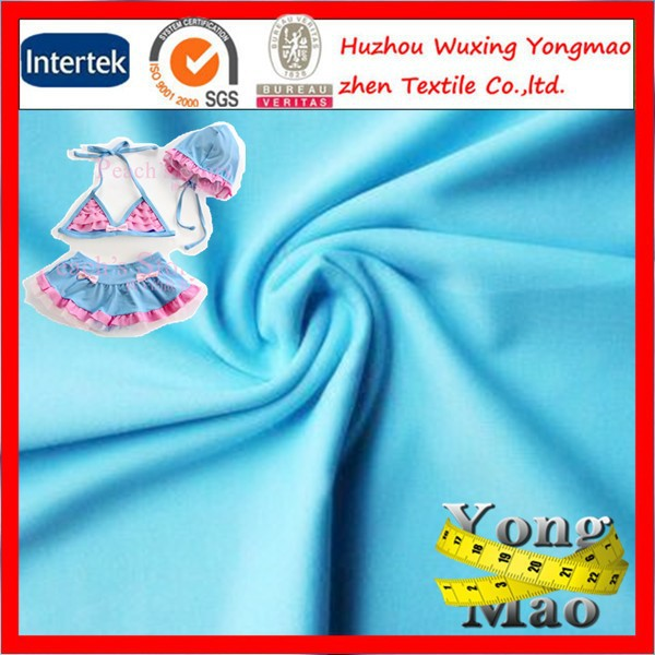Huzhou factory directly sale fabric for swimsuit material