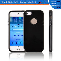 The Thinnest 2 in 1 TPU+PC Case Back Cover for iPhone 5, Smooth Hard PC Case for iPhone 5 Back Cover