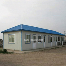 China hot sale prefab manufactured home, easy houses , competitive prefabricated wooden house price