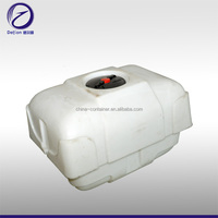 white plastic customized rotational agricultural tank