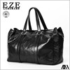 expandable travel bag with laptop compartment crazy horse genuine leather duffel bag