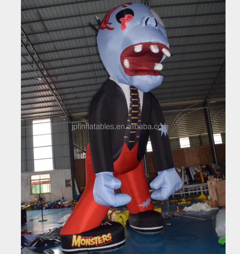 Advertising Giant Cartoon Inflatable Monster For Park